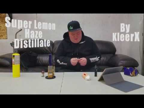 Kleerx - Super Lemon Haze Distillate -  Review -  Cannabismo