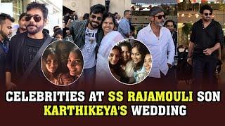 Celebrities At SS Rajamouli Son Karthikeya