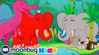 Down in the Jungle | Morphle and Mila +More Kids Songs | Nursery Rhymes | Kids Songs