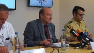 Amoklauf OEZ München -  Pressekonferenz der Polizei