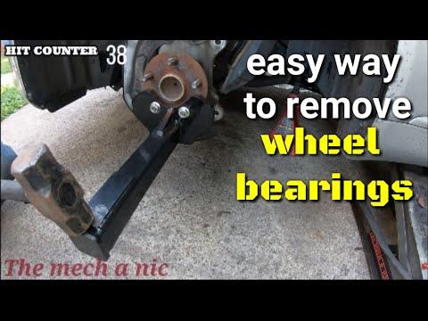 ATD wheel bearing removal tool