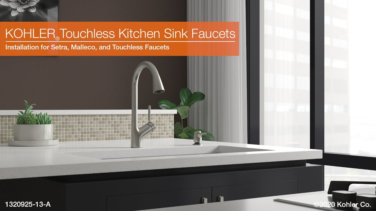 touchless kitchen sink faucets