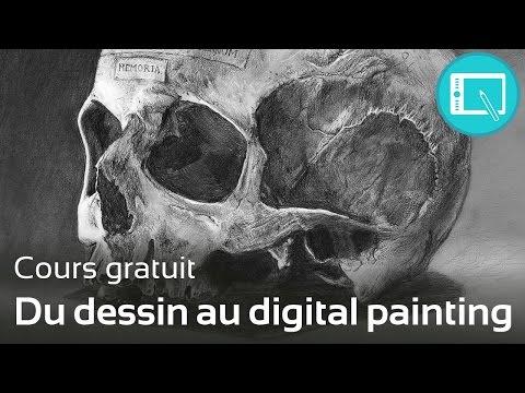 Du dessin au digital painting - [Le Programme] 1. Chap 0.
