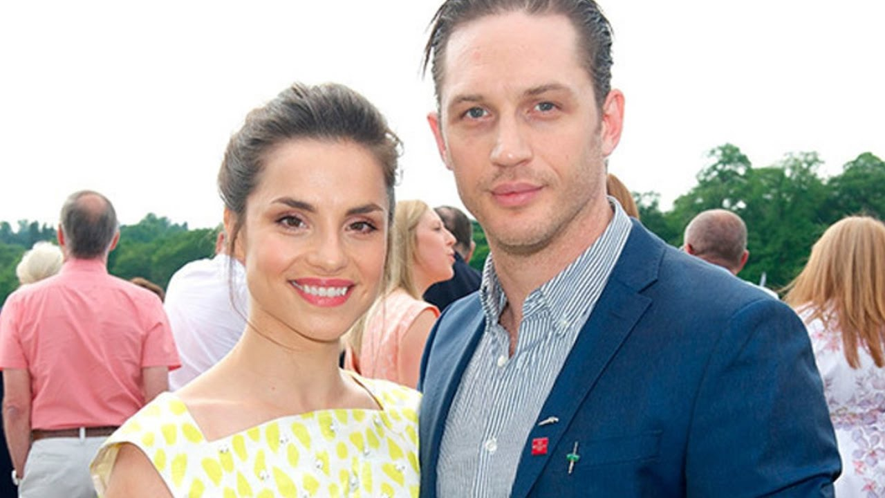 Tom Hardy and his wife Charlotte Riley - YouTube
