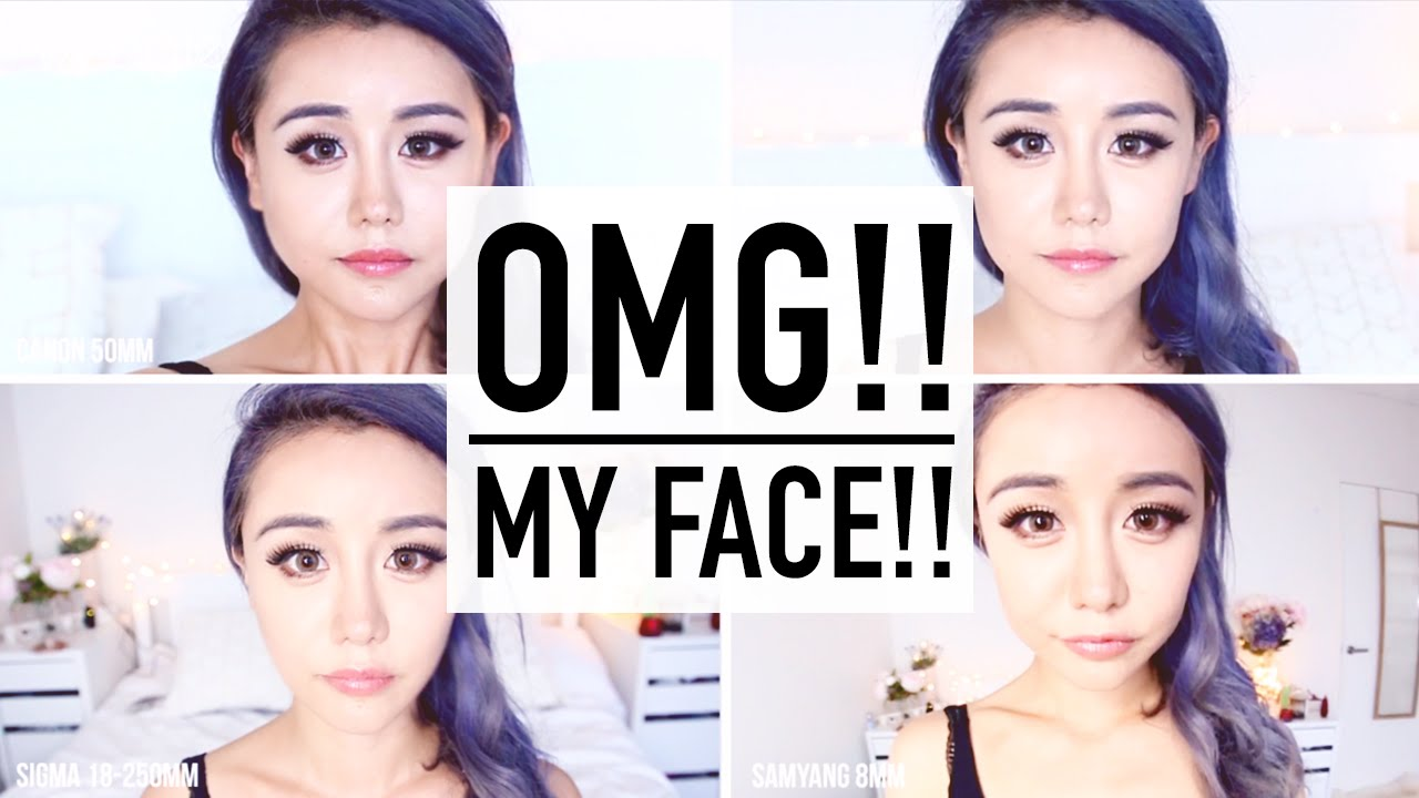 Beauty Guru Camera Secrets ♥ Look Skinnier On Camera ♥ 4 Lens Test ♥ Selfie  & Filming Tips ♥ Wengie