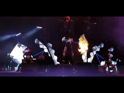 Nicky Jam - Mi Cama (Remix) (Intimo Tour - ISS Dome Düsseldorf - LIVE - 2019-11-02)