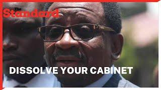 Senator Orengo asks President Uhuru to dissolve cabinet and do away with Ruto allies