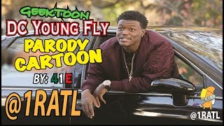 DC Young Fly Cartoon Parodie
