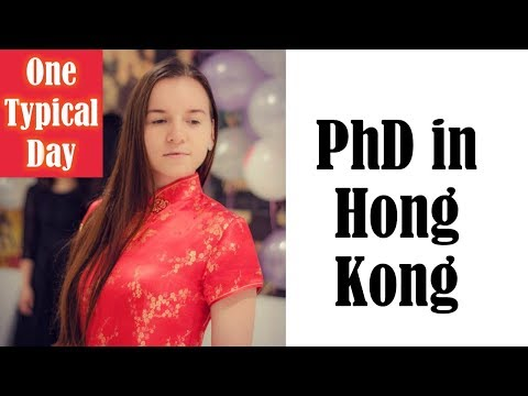 #5. Study abroad / A day of PhD student (Hong Kong) [Eng]