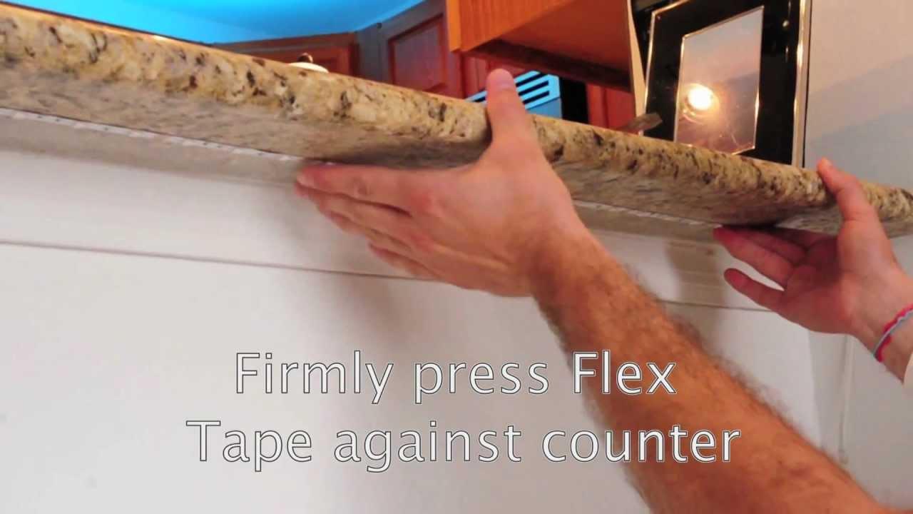 LED Flexible Lighting Kit  Under Bar Counter Installation