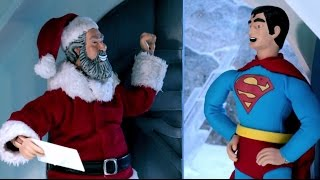 Santa Claus Vs. Superman | Robot Chicken | Adult Swim
