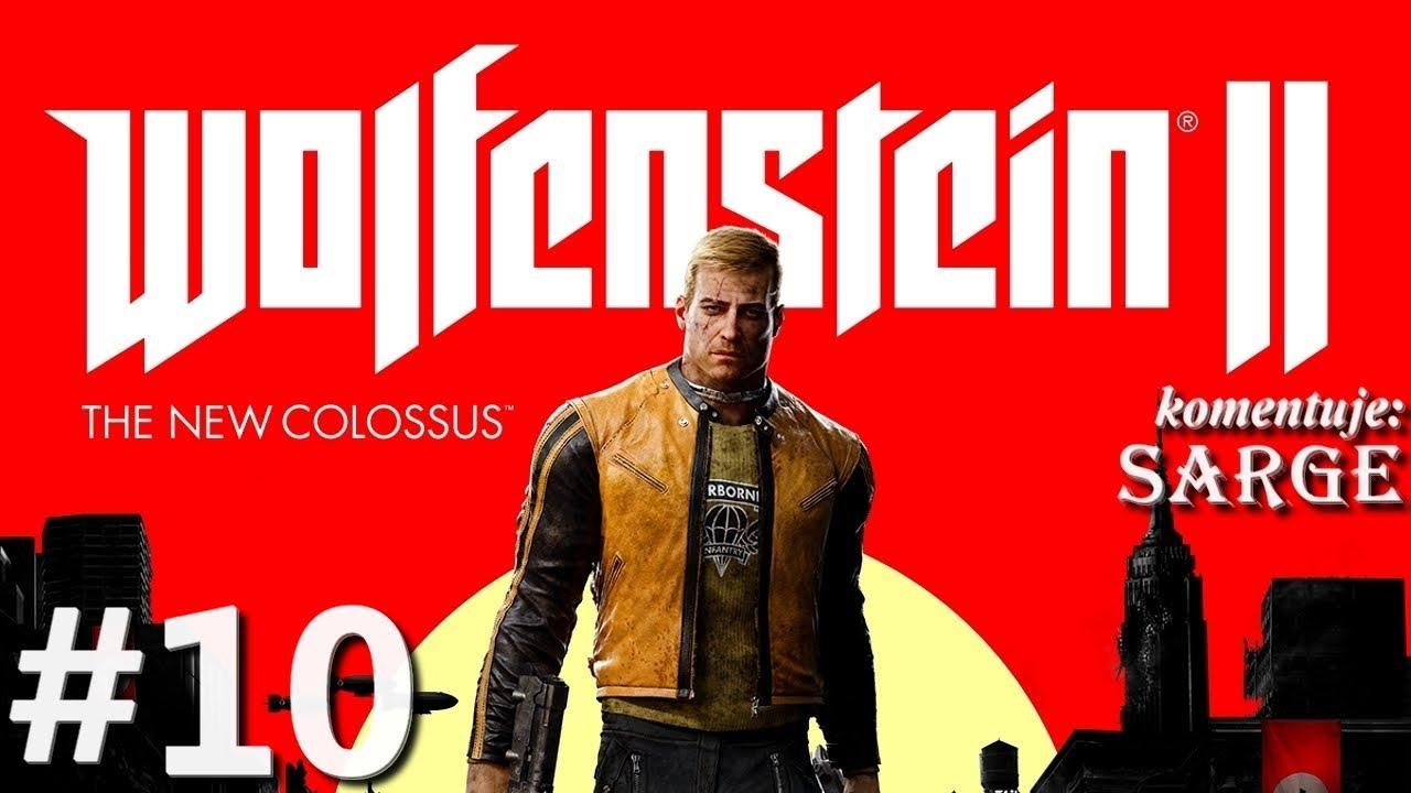 Zagrajmy w Wolfenstein 2: The New Colossus [60 fps] odc. 10 – Potężny wybuch bomby