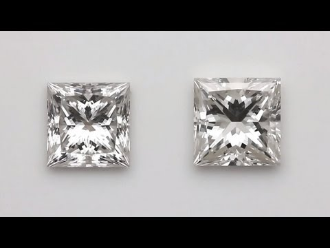 Which princess cut diamond is the most beautiful?