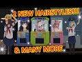 [School Girls Simulator] EMIKA &  FUMIKO (NEW) HAIRSTYLES!!! + MANY MORE!! [UPDATE 14.9.2018]