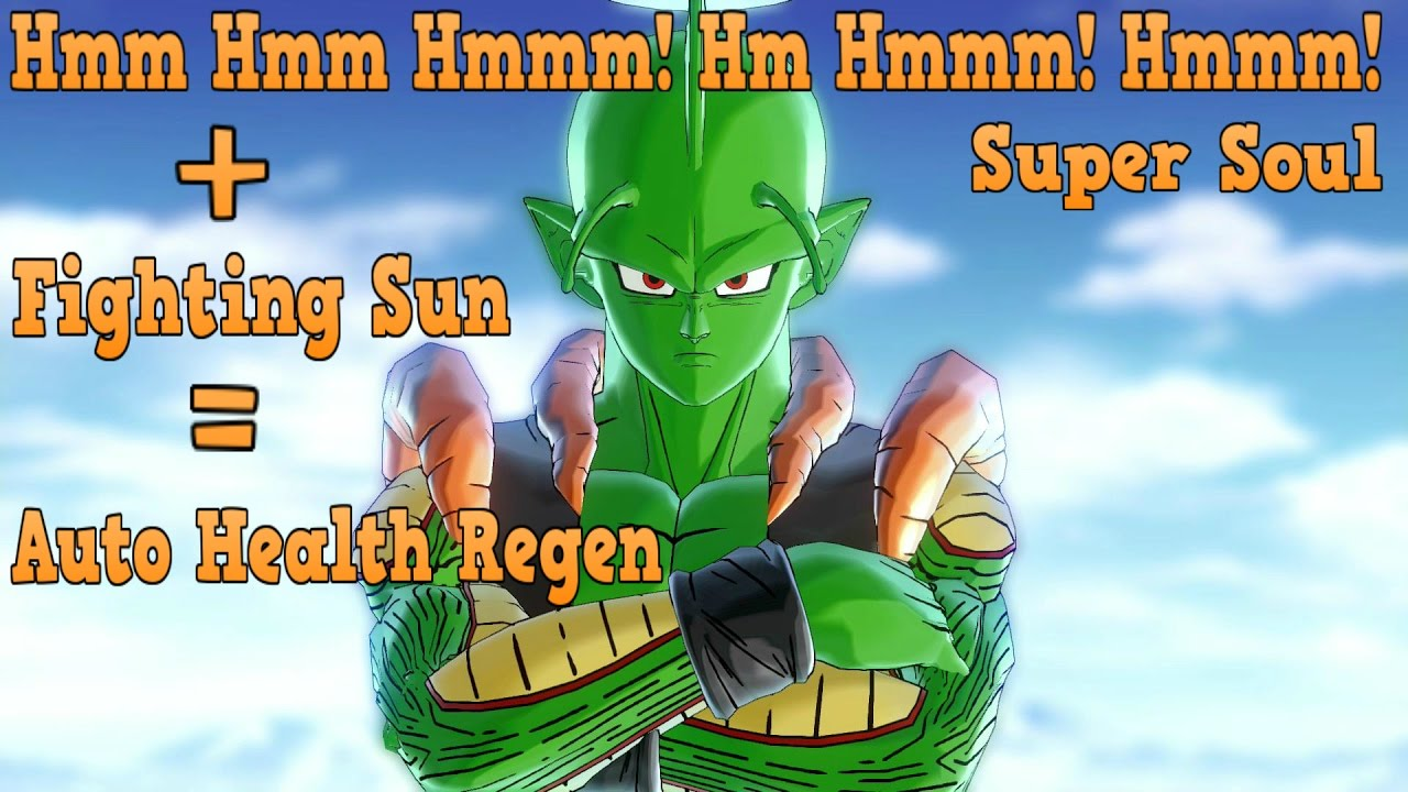 BEST SUPER SOUL! AUTO HEALTH REGEN!   Dragon Ball Xenoverse 2