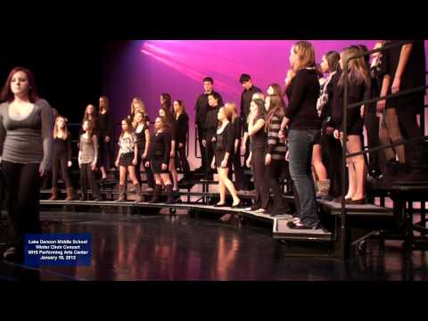 2012 Lake Denoon Middle School Winter Concert - Betelhemu