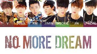 Download BTS (방탄소년단) - No More Dream Color Coded Lyrics