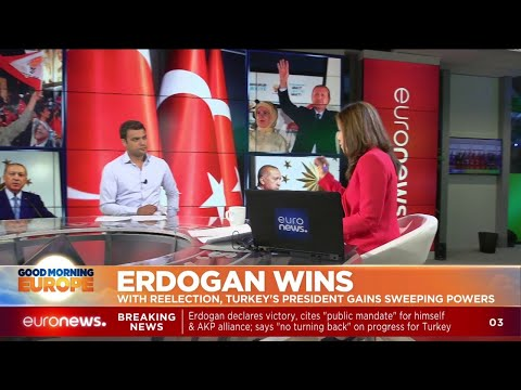 Erdogan Wins: with re-election, Turkey's President gains sweeping powers