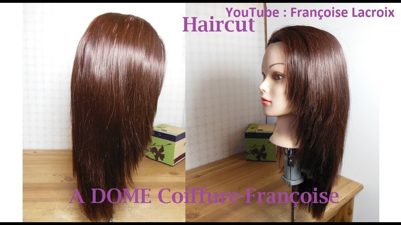 2 Coupe Cheveux Longue Dégradée Cascade V Long Layered V Haircut Corte De Pelo En Capas Largo V