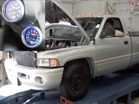 3.9L 4BT Cummins Turbo Diesel Dodge Ram 1500 Dyno - YouTube