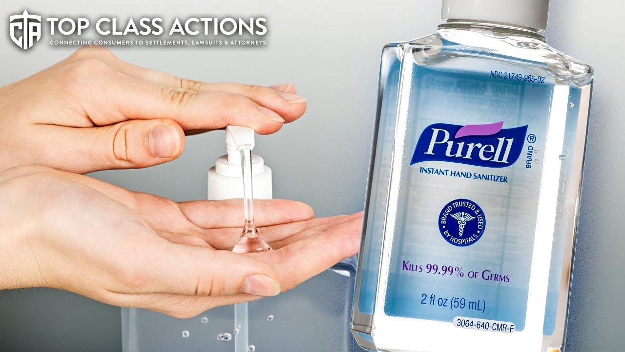 Hand Sanitizer Companies Sued For False Germ Killing Claims The