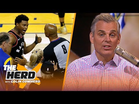 Colin Cowherd recaps Game 3 of the NBA Finals & discusses fan-player interaction | NBA | THE HERD