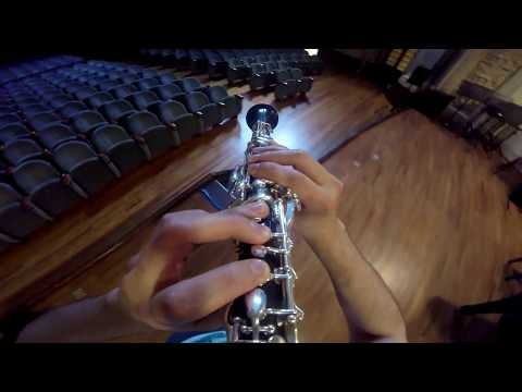 Rhapsody in Blue - GoPro solo clarinet