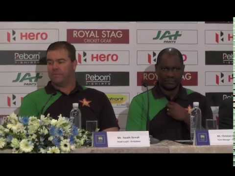Zimbabwe tour of Sri Lanka 2017 - Pre Tour Press Conference HD