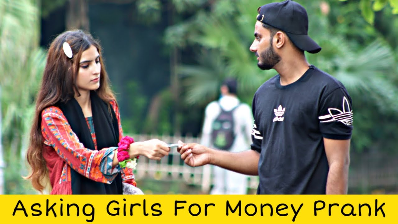 Asking Girls For Money Prank @That Was Crazy