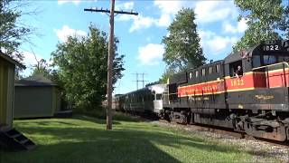 CVSR #1822 With Beautiful Quilling RS3K Horn & #6777 On Southbound Passenger - Jaite Ohio July 2017