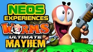 We're So Bad At Worms Ultimate Mayhem Multiplayer! (With Kada And Wix!)
