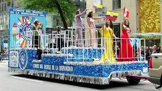 Desfile de la Hispanidad (18 países), Nueva York, 2018