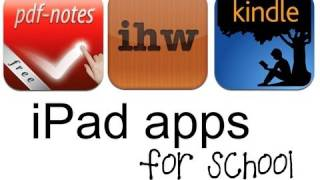 Gambar cover iPad Apps for School: Planning, Reading, Notes, PDFs - School Tips