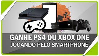 Como ganhar um Xbox One ou PS4 jogando games no Android ou iOS