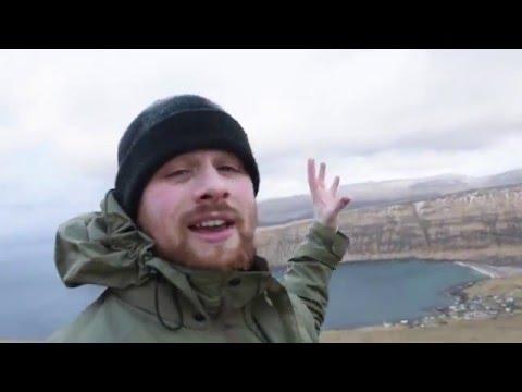Landscape Photography  Faroe Islands, The Windy Borgin Hill