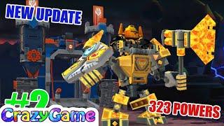 LEGO Nexo Knights Merlock 2.0 - New Update NEW BATTLE SUITS Episode 2 (323 NEXO POWERS)