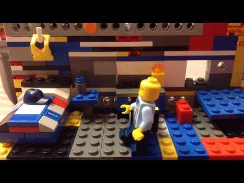 Good morning Lego marine Police!! (Stopmotion) | Lavanya's Studio 💕