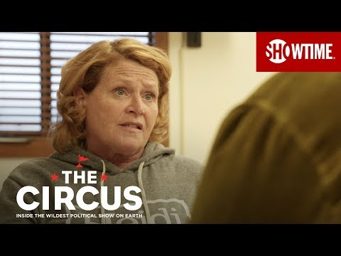 Sen. Heidi Heitkamp Takes Ownership of Revealing Victims | THE CIRCUS | SHOWTIME