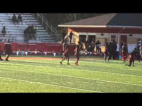 Brendan Jackson Simsboro High school 100m dash PR Hoss Garret Relays 2016
