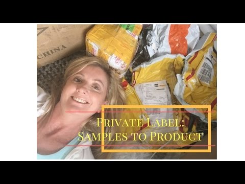 Private Label #4  | From Alibaba Samples to First Product...Finally!