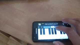 Indian national anthem on Android Piano