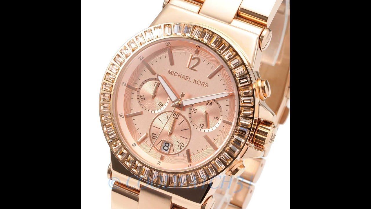 719bc8c8b4d1 MICHAEL KORS WATCH MK5412 DYLAN ROSE GOLD REVIEW WOMENS MK5412 マイケル・コース 腕時計  ローズゴールド レビュー レディース