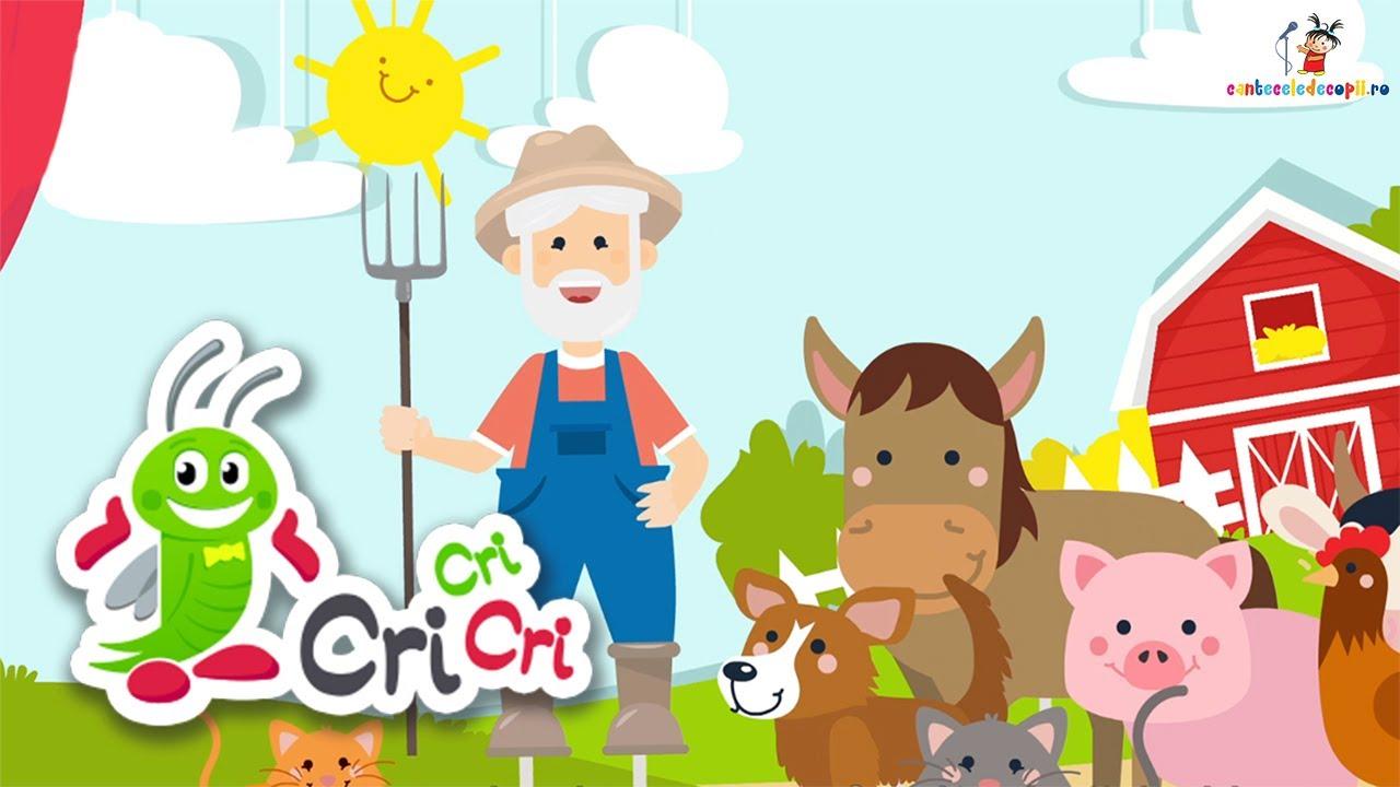 Un batranel o ferm-avea (Old MacDonald Had a Farm)   CriCriCri #cantecepentrucopii