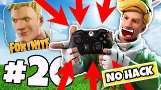 This CONTROLLER Actually WORKS On Fortnite Mobile No Hack / Cheat!! - Fortnite IOS / ANDROID #20
