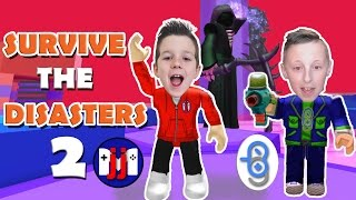 Playing with Burlington Gamer :: Roblox Survive the Disasters 2 :: GamerBoy JJM