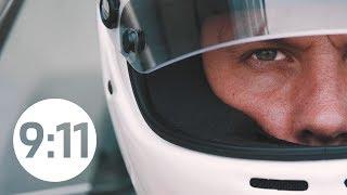 A dream comes true: Rod Emory drives an historic Porsche 935 at the Rennsport Reunion.