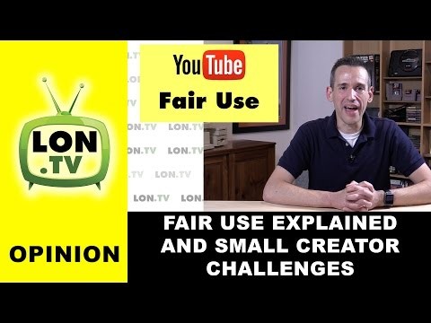 Opinion: Fair Use on YouTube Explained and Why Small Creators are Disadvantaged