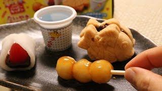 """New! Kracie Happy Kitchen""""taiyaki And Odango"""" 新商品 知育菓子 たいやき&おだんご"""
