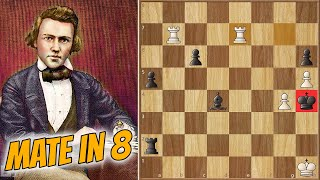 Mate in 8, But Really it's Instant  || Barnes vs Morphy (1858)