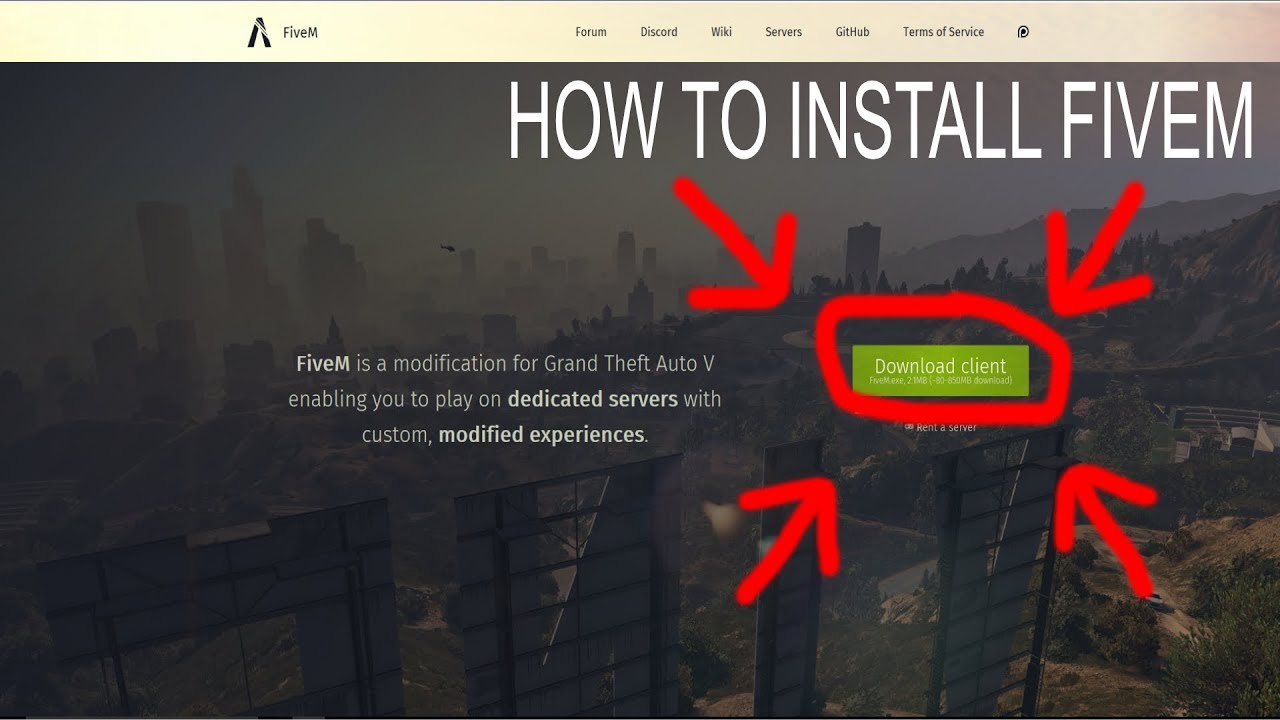 FiveM  How to Install FiveM  Easy Tutorial  YouTube